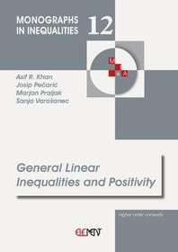 General Linear Inequalities and Positivity
