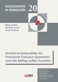 Analytical Inequalities for Fractional Calculus Operators and the Mittag-Leffler Function