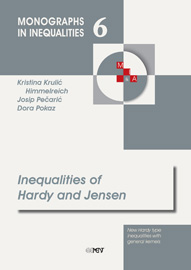 Inequalities of Hardy and Jensen