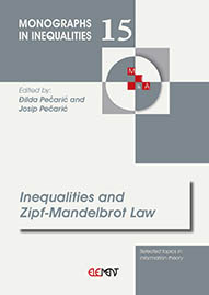 Inequalities and Zipf-Mandelbrot Law